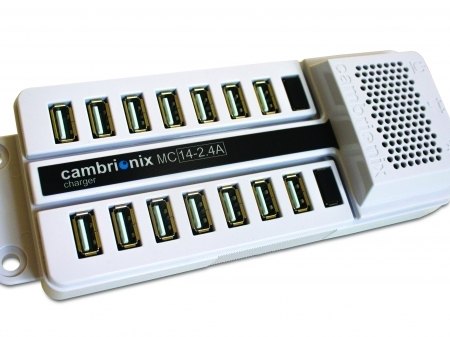DS-MC14-2.4A - 14-port USB Hub Charges iPads, iPods and IPhones